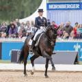 Fabienne Lütkemeier (GER) auf Diamonds Forever, Preis der Nürnberger Versicherungsgruppe @ Pferd International München 2014 Picture © M. Gruber – www.GruberImages.com